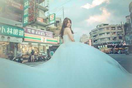 婚紗-個人藝術照-沙沙