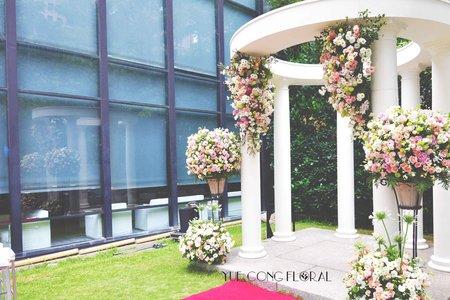 台中印月餐廳-婚佈設計