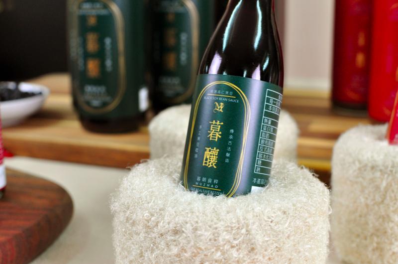 「甘醇一輩子」手工純釀造醬油(組)作品