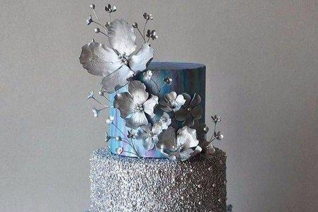 翻糖婚禮蛋糕-高層設計蛋糕