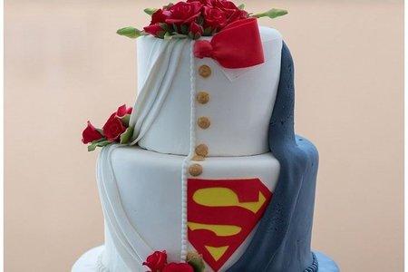 翻糖婚禮蛋糕-漫威&DC系列