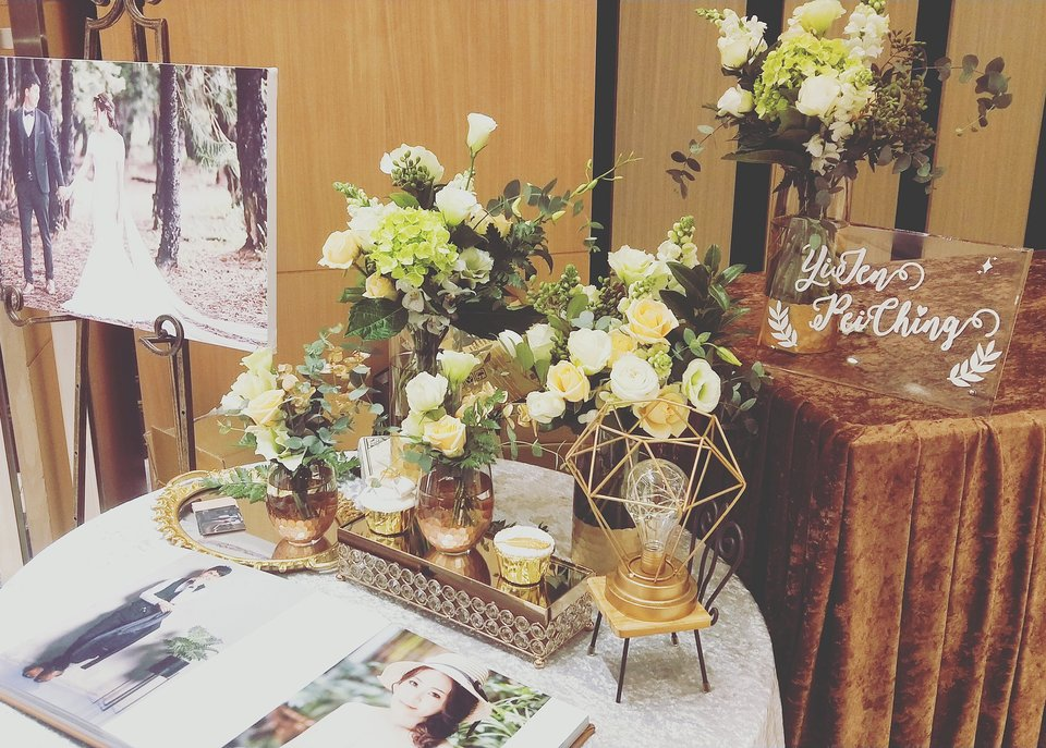 白水木婚禮佈置,獨一無二的婚禮佈置設計