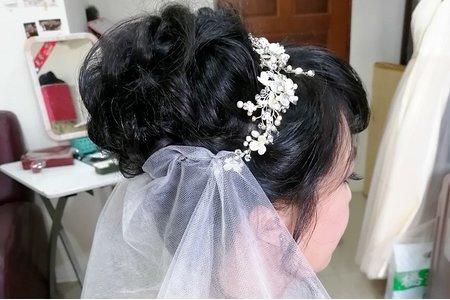 訂婚+迎娶-單髮妝造型