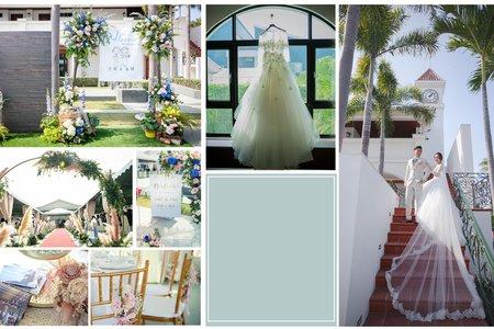 戶外婚禮--漂亮莊園