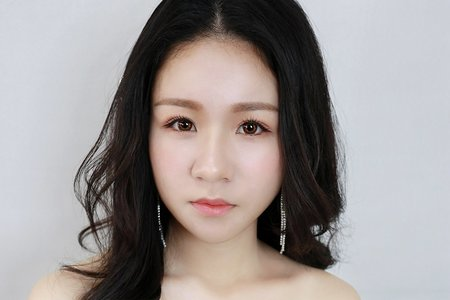 韓系妝髮‖茜茜
