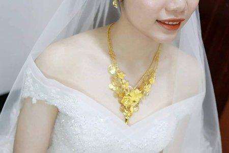 嘉義新秘 迎娶白紗 -薇雅