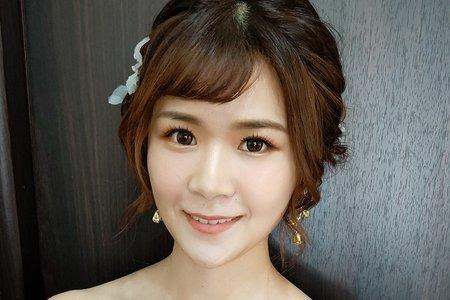 上海女孩-于珍-新秘小果