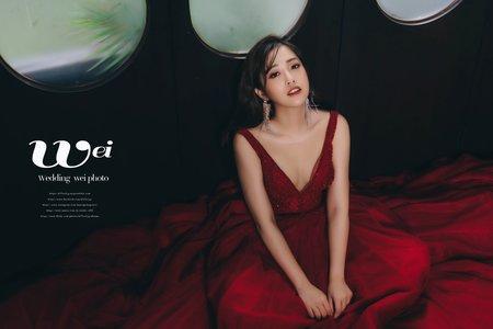 [婚紗造型]時尚韓系妝容