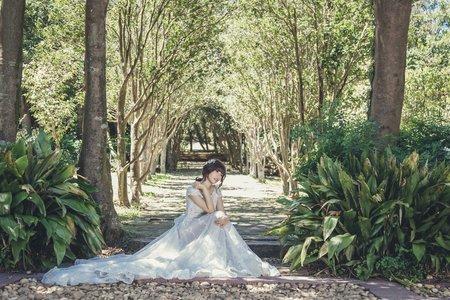 花精靈森林系婚紗造型