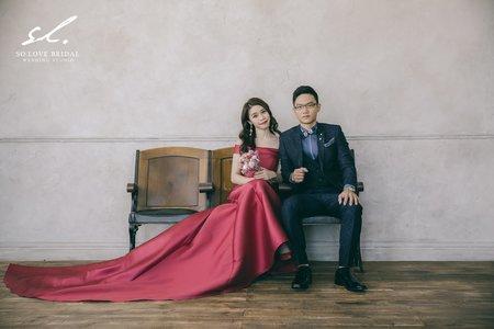 典雅氣質婚紗造型