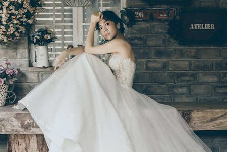 [婚紗造型]韓風小清新婚紗