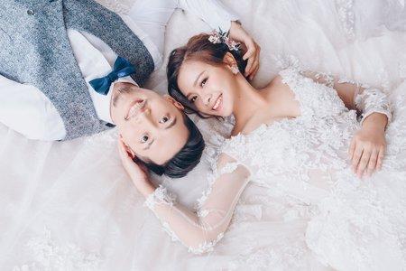 [婚紗造型]花漾系質感婚紗