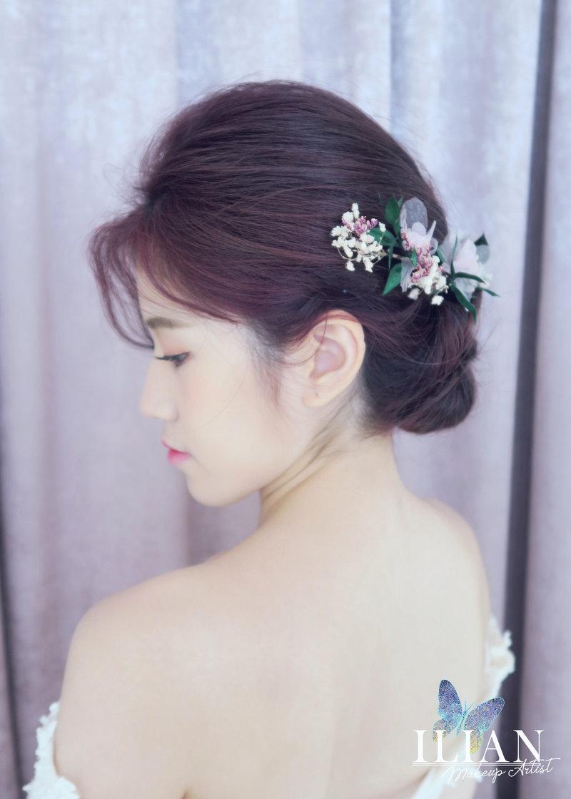 新娘造型,新秘,盤髮