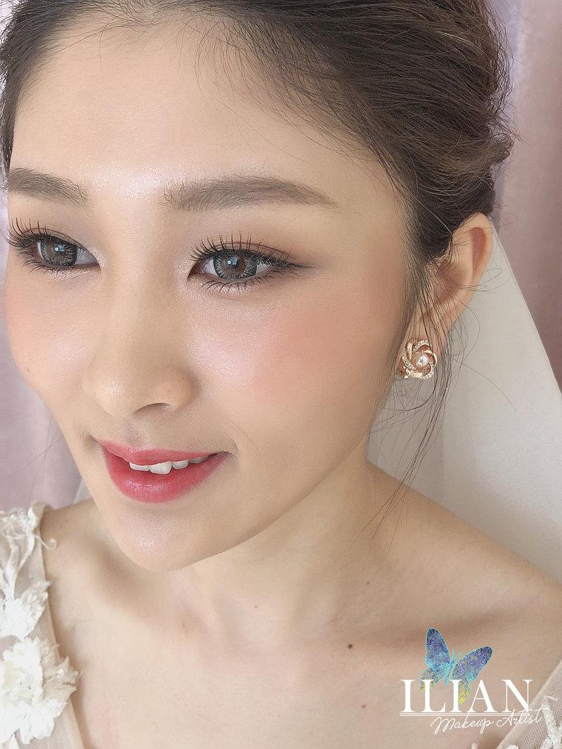 混血妝,韓系,日系,妝容,新秘