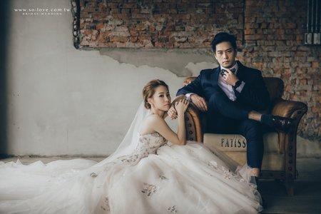 雜誌風婚紗造型