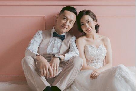 [婚紗造型]高雅短髮婚紗造型