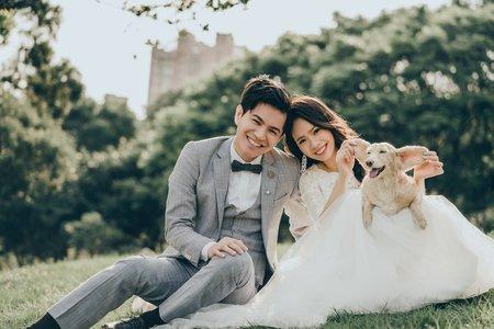 [婚紗造型]寵物婚紗自然風