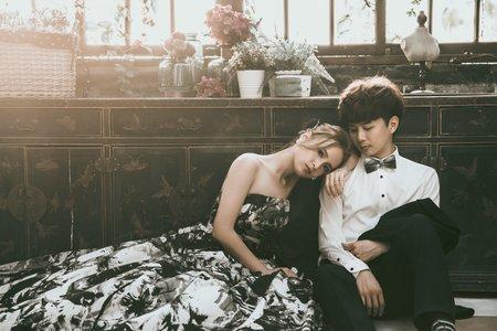 [婚紗造型]韓系小清新婚紗造型