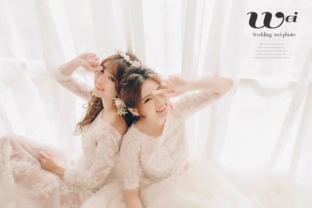 [婚紗造型]閨密婚紗