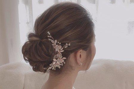 ꕥ美式線條盤髮&日系編髮