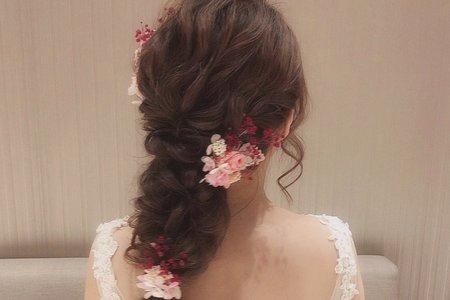 ꕥ乾燥花系列-花藝編髮