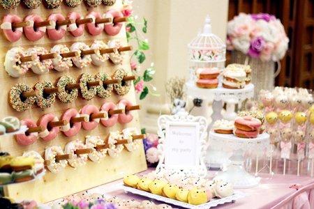 婚禮甜點BAR
