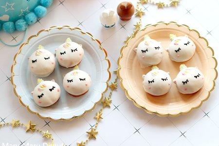 浪漫獨角獸造型巧貝
