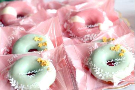 巧克力迷你甜甜圈120顆婚禮小物客製化甜