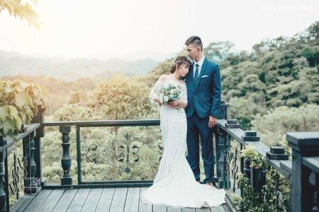[婚紗攝影] 苗栗婚紗/莫內秘密花園/自助婚紗/婚紗照/D&L Wedding