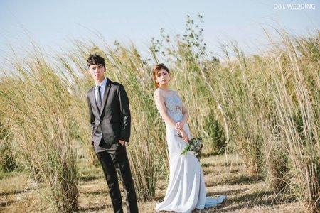 [婚紗攝影] 台中婚紗/中央公園/自助婚紗/婚紗照/D&L Wedding