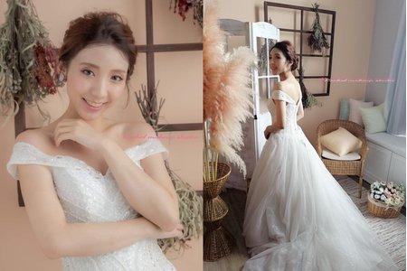 Rachel - 鍾愛studio婚紗攝影白紗造型