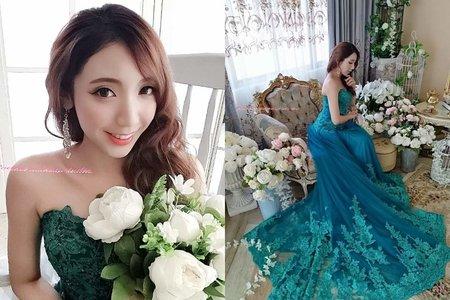 Rachel - 湖水藍夢幻歐風婚紗攝影