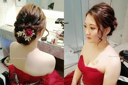 Rachel - 文定儀式玫瑰金優雅造型