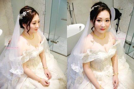 Rachel - 華麗迎娶水晶編髮造型