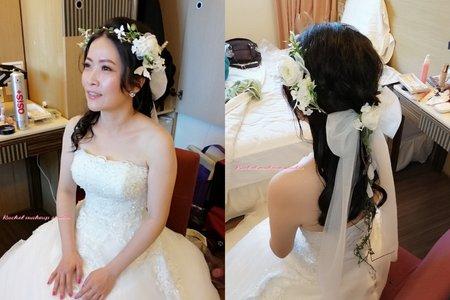 Rachel - 台北教師會館佛禮迎娶白紗