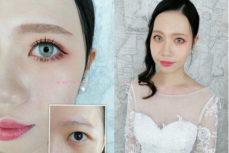 Rachel - 眼型調整(自助婚紗造型)