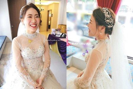 Rachel - 台中寶麗金宴會館白紗造型