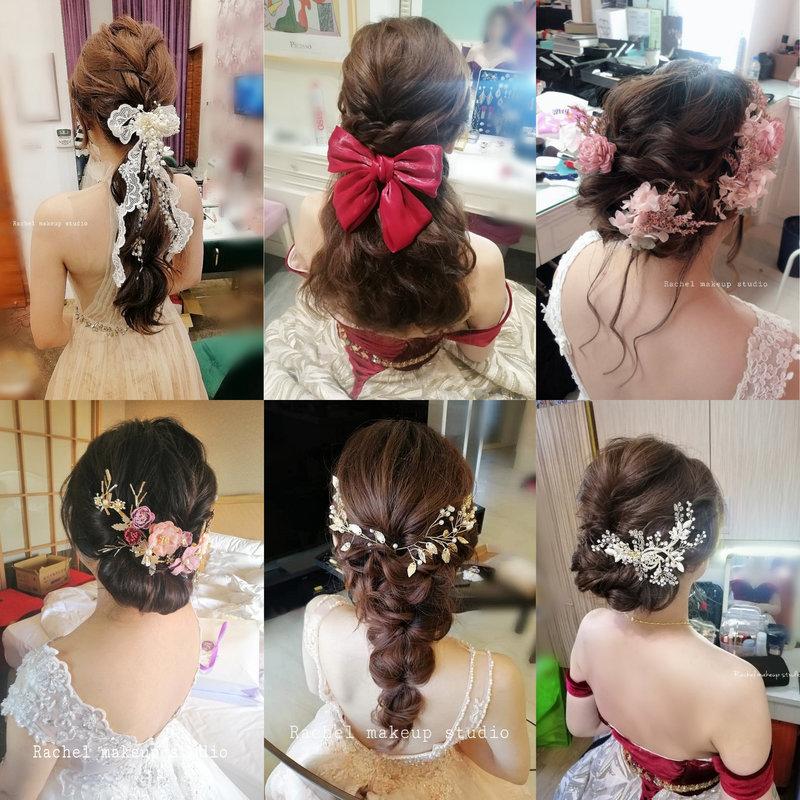 精緻編髮造型