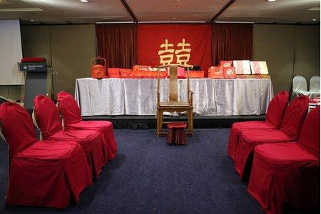 台北婚攝饅頭爸@台北喜來登2F瑞穗園 文定紀錄