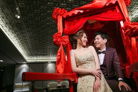台北婚攝饅頭爸@晶華酒店3F-結婚花轎進場