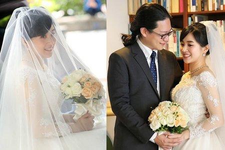 婚攝饅頭爸@台北行道會 教堂婚禮
