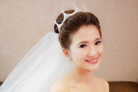 台北新秘娃娃@喜來登飯店 柔 新娘秘書 內有感謝文 饅頭爸團隊