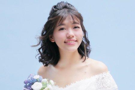 台北新秘娃娃@國賓飯店 短髮新娘 新娘秘書 內有感謝文 饅頭爸團隊