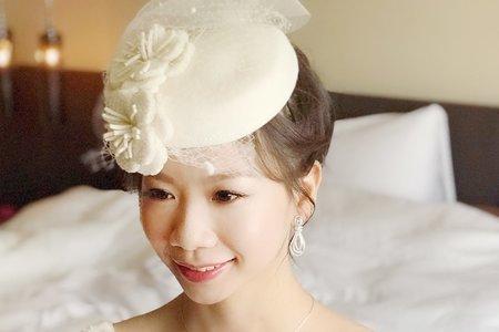 台北新秘娃娃@國賓飯店 純 新娘秘書 內有感謝文 饅頭爸團隊