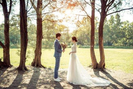 【森系愛情】美式│浪漫│甜美│森林│草原│台南旅拍