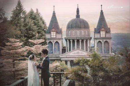 【明星婚照★吳俊宏】韓系│浪漫│清新│宮廷│愛麗絲的天空