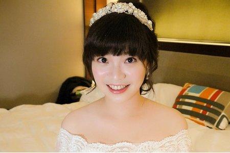 台北新秘Candy@香樹花園酒店 裴蔓 新娘秘書 饅頭爸團隊