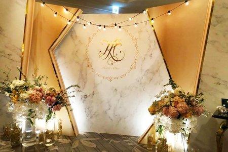 『活動限定』客製化婚禮佈置設計專案