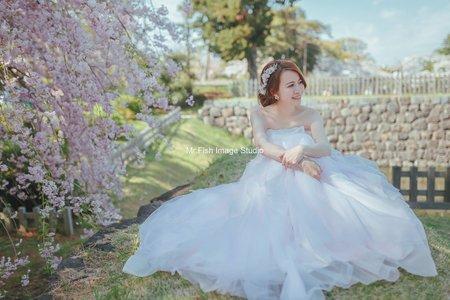東京海外婚紗造型