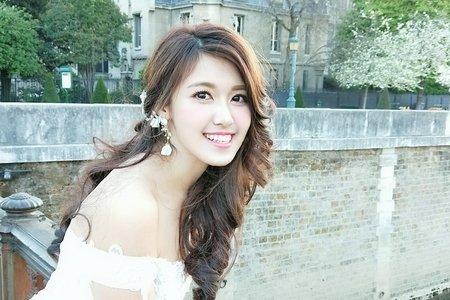 台北新秘珊婷@法國巴黎海外婚紗外拍